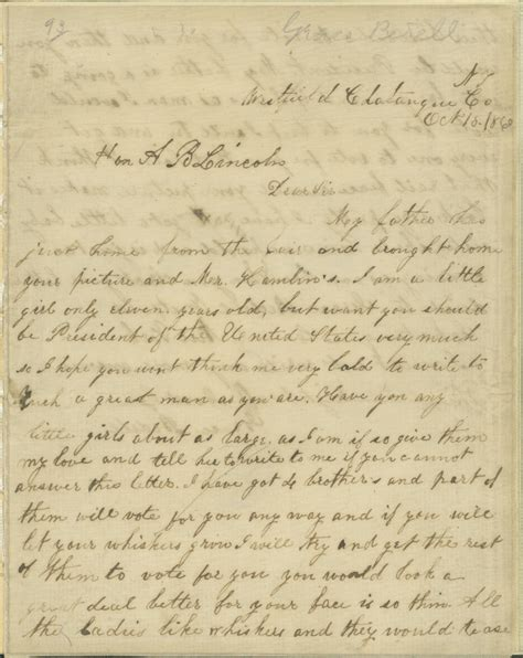 abraham lincoln letter to the dpl detroit area library network