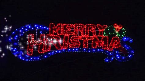 rope light merry christmas sign youtube tierra este 17837