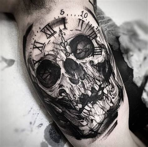 black and grey skull tattoo designs best 25 grey ink tattoos ideas on pinterest black and