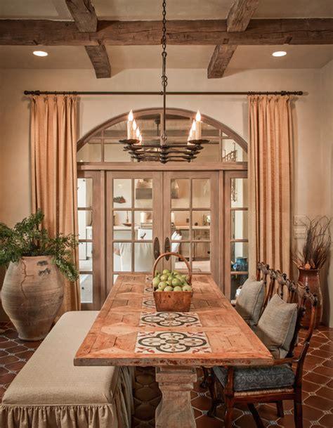 bordley mediterranean dining room houston by