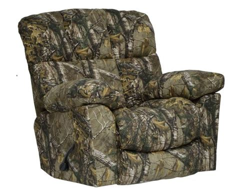 best camo recliner chimney rock camo recliner delano s furniture and
