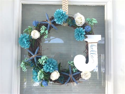 spring wreaths 2017 diy spring summer wreath with starfish riss home
