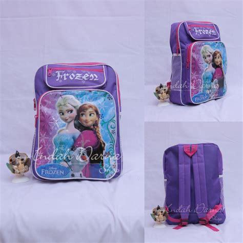Tas Ransel Sekolah Tk Merah Tas Mini Paud Merah 1 tas ransel anak paud tk gambar karakter kartun frozen