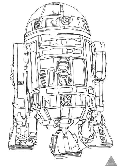 artist creates 5 awesome star wars drawings with one