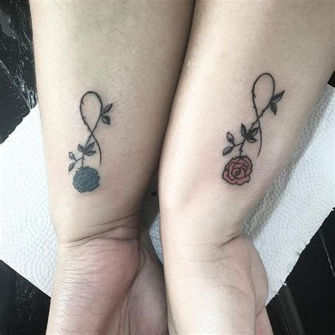 eternity tattoos for couples matching tattoos for couples infinity www pixshark