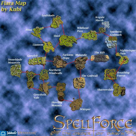maps spellforce wiki fandom powered  wikia