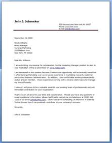 Cover Letter For A Resume Exle by Cover Letter Exles Resume Downloads