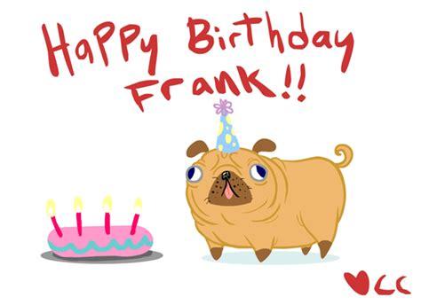 pug birthday gif birthday gif find on giphy