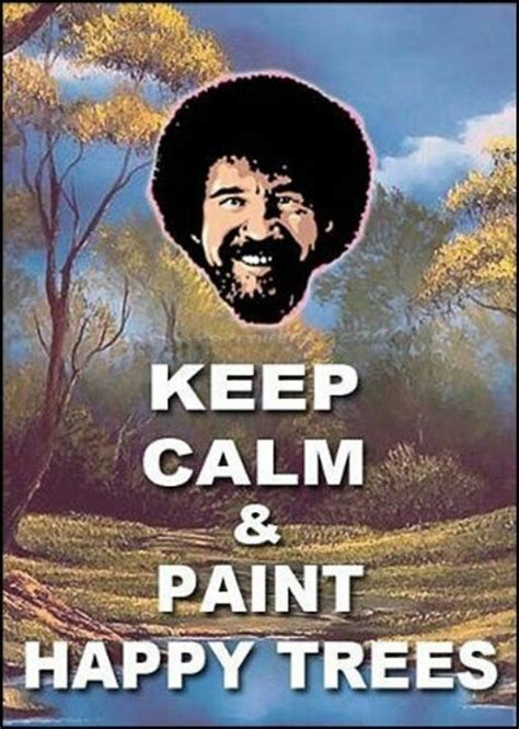 bob ross painting a happy tree happy trees you are a cinema