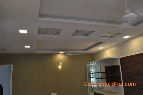 Gypsum Board False Ceiling Price by False Ceiling Contractorbhai