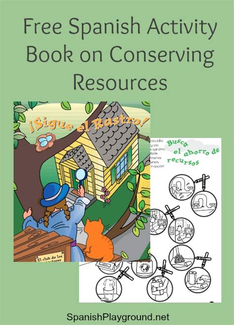 free spanish books for kids free spanish activity book for earth day spanish playground