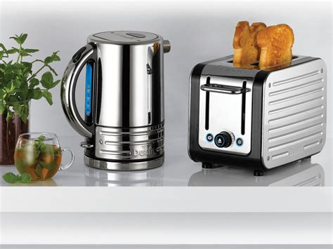 Bun Toasters Grey Body With Stainless Steel Panels Architect Kettle