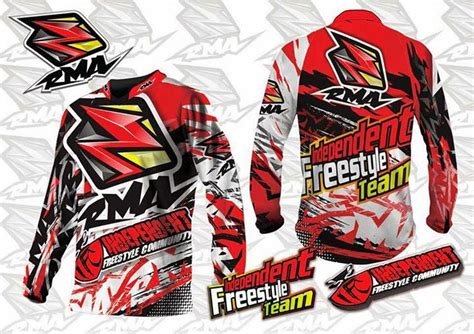 Kaos Motocross Riders desain baju motor drag automotivegarage org