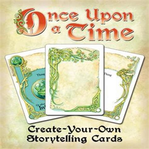 make your own card uk once upon a time create your own storytelling cards