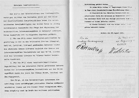Soviet Non Aggression Pact Essay by Secret Non Aggression Pact Between Germany And Russia Wwii 1939 Primary Source Document
