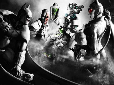 Arkham City comic world batman arkham city wallpaper