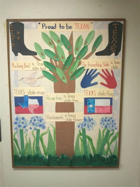 Kindergarten Themes Texas | 34 best texas theme craft and bulletin board images on