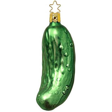 legends christmas ornaments large legend of the pickle ornament