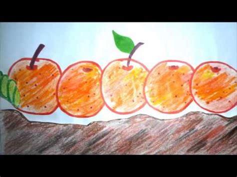 la oruga muy hambrienta the hungry caterpillar historia infantil youtube