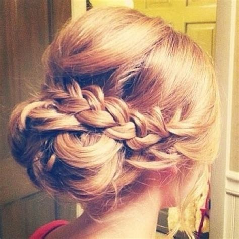 wedding hair up plaits wedding guest hair hairtrade