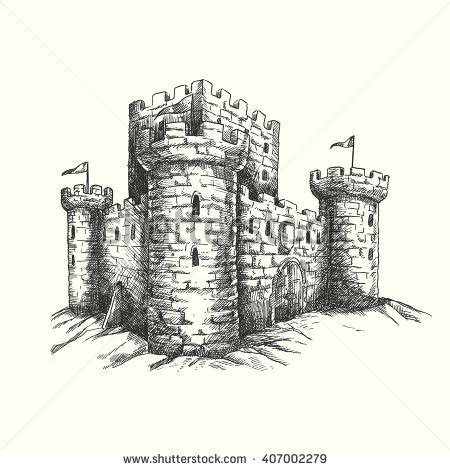Fantasy Chess Set Castle Tower Stock Images Royalty Free Images Amp Vectors