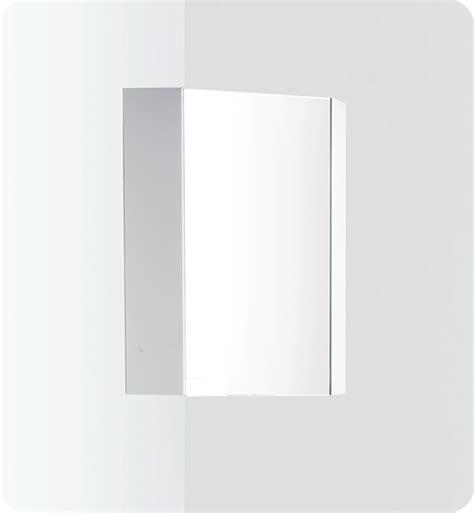 corner medicine cabinet with mirror 18 quot fresca coda fmc5084 white corner medicine cabinet w mirror door mirrors bath