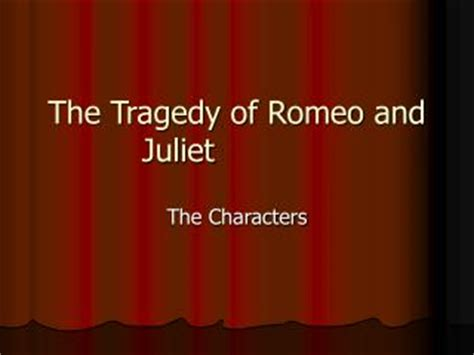 The Tragedy Of Romeo And Juliet Act 1 Worksheet Answers by Ppt Tybalt Capulet Powerpoint Presentation Id 2047693