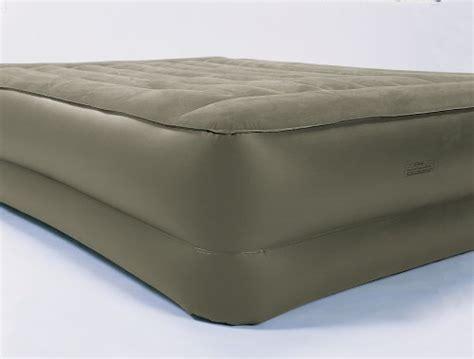 insta bed raised air mattress with sure grip bottom built in mattress news