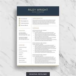etsy templates 10 best etsy resume templates graphicadi