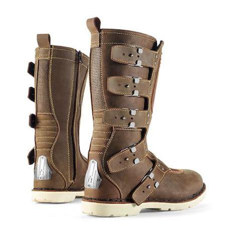 icon boots icon 1000 elsinore boots revzilla