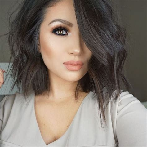 ash brown hair 35 smoky and sophisticated ash brown hair color looks