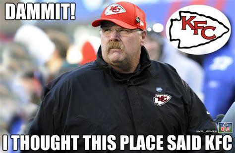 Kansas City Chiefs Memes - charley cbell on twitter quot best andy reid meme ever good luck in kansas city big man