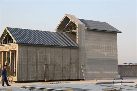 3d printer house china recycled concrete houses 3d printed in 24 hours