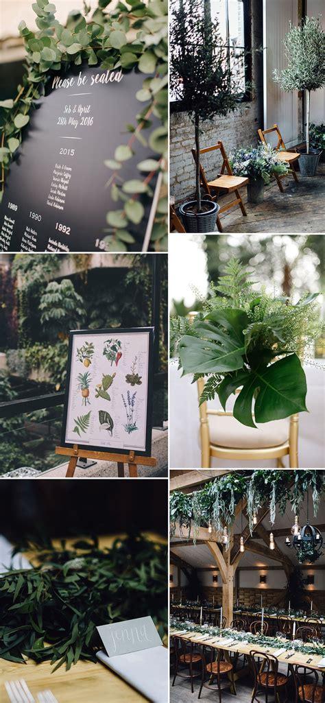 Using Greenery In Your Wedding Decor   ROCK MY WEDDING