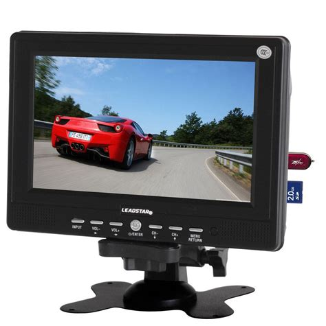 Led Tv Portable 7 Inchi Stereo Berkualitas 7 inch mini led lcd mini portable tv with usb sd reader av monitor with fm radio option buy 7
