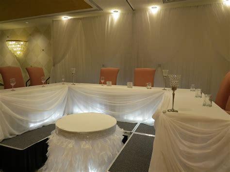 Wedding Decor   Head Table, Backdrop   White Oaks