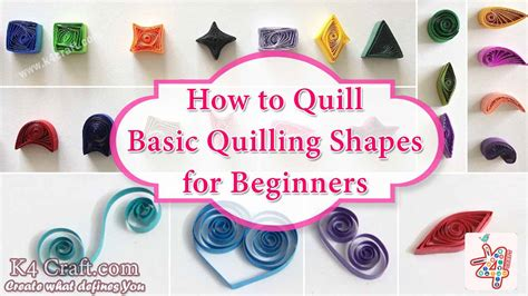 How To Make Different Shapes In Paper Quilling - how to make different shapes in paper quilling 28 images
