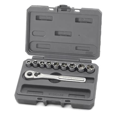 Dijamin Socket Wrench Set 10 Pcs Kenmaster craftsman 34554 10 pc 6 pt 3 8 in metric socket wrench set sears outlet