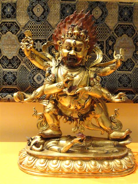 file mahakala tibet 17th century royal ontario museum
