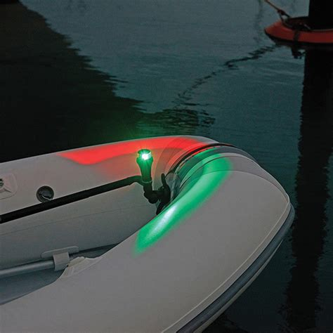 boat bow light railblaza illuminate portable kayak navigation bow light