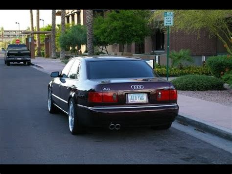 Audi A8 Sound by Brutal Audi A8 Exhaust Sound Epic Revs Acceleration
