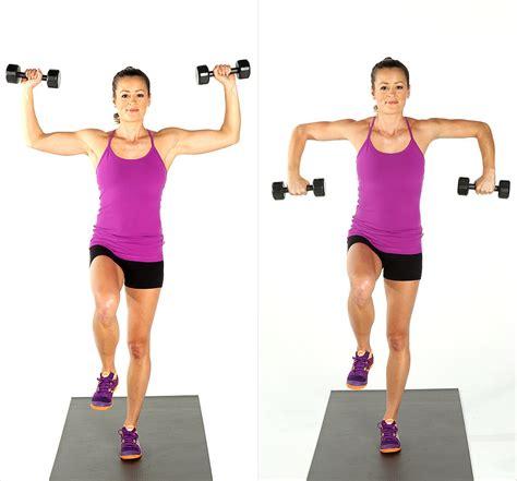 Dumbbell Fitness dumbbell workout popsugar fitness australia