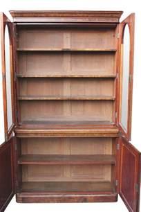 Walnut Bookshelves Burr Walnut Bookcase Antiques Atlas