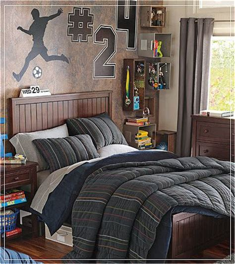 Key Interiors By Shinay Teen Boys Sports Theme Bedrooms Boys Bedroom Decorating Ideas Sports 2