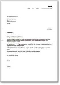 Antrag Resturlaub Vorlage Ordentliche K 252 Ndigung Durch Den Arbeitnehmer Ch Musterbrief