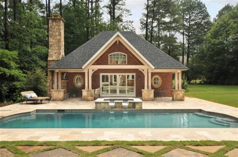 backyard porch designs for houses 15 cool pool house with a bar that you will adore it