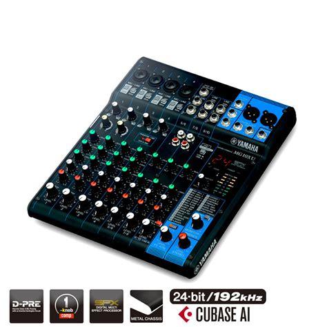 Mixer Yamaha Cina vivace yamaha mg10xu analog mixer