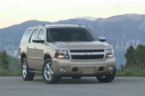 chevrolet tahoe dimensions 2007 chevrolet tahoe technical specifications and data