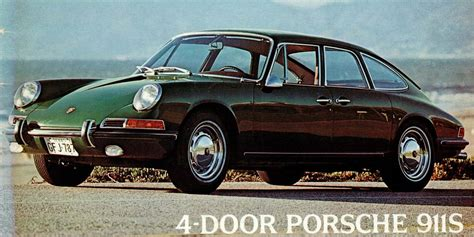 porsche car 4 door the strange and wonderful tale of the 4 door porsche 911