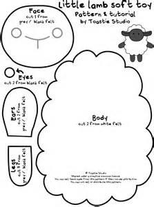 sheep template template